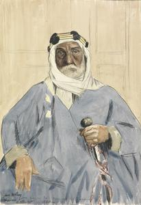 A Fighting Emir: Mohammed Ali-el-Mauyed El Aden. Aged 65