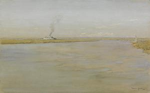 A Bend on the Tigris, near Qalat Salih