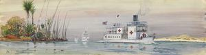 Nile Steamers converted into Hospital Boats