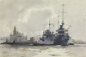"Fleet Messengers at Malta : ""HMS Asphodel"" and ""HMS Ivy"""
