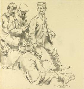 Five German Prisoners