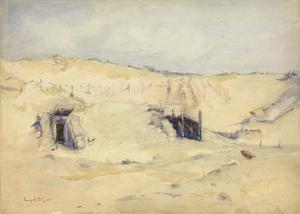 The Sahara of War: Nieuport Sand-dunes