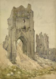 East Entrance, St Martin's Cathedral, Ypres