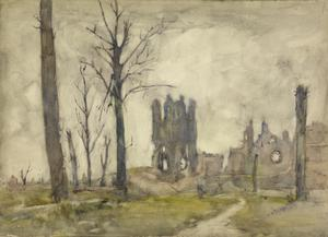 A Grey-day, Ypres, 1919