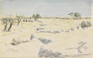 Trenches before Gaza