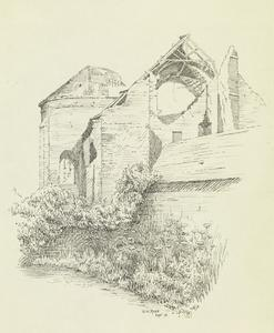 Hebuterne Church, September 1915