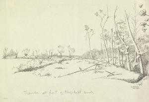 Trenches at Front of Plugstreet Wood, May 1915