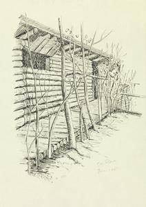 Huts near Hyde Park Corner, Ploegsteert Wood, June 18th 1915