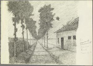 The Forward Estaminet, Messines Road, June 1915