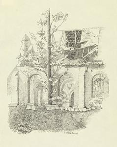 Hebuterne Church, August 1915