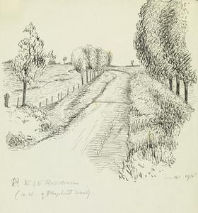 Road to Le Rossignol, North West of Ploegsteert Wood, June 16th 1915