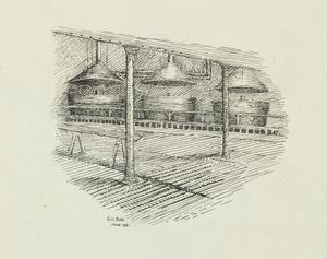 Vats in Nieppe Brewery, June 1915