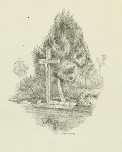 Crucifix in Hebuterne Village, September 1915