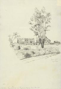 Farm Buildings near Ploegsteert, Messines Road, June 1916