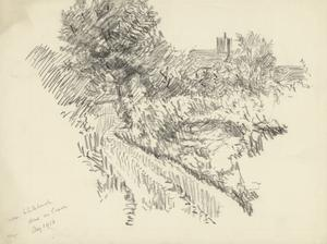 Near Whitchurch, Done on Leave, August 1916