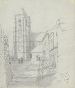 Domart Church, February 1917