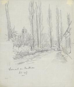 Domart-en-Ponthieu, February 1917