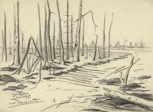 Near Deniécourt, February 1917