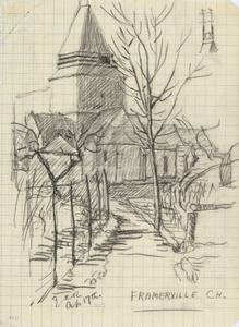 Framerville Church, April 17th 1917