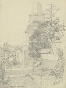 Noeux Church, July 25 1917