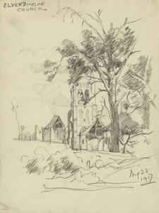 Elverdinghe Church, August 28 1917