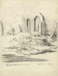 Hebuterne Church, September 1917