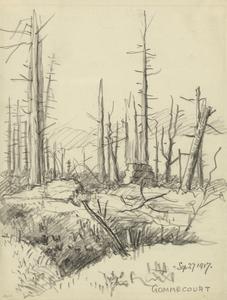 Gommecourt, September 27 1917