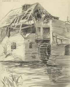 Fampoux Mill, November 17 1917