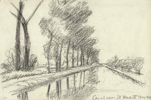 Canal near St. Venant, May 1918