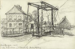 Canal Bridge near La Pierrere (St. Venant), May 1918