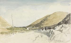 Nablous : Australian cavalry entering the ancient Shechem, the capital of Samaria