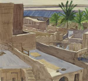 Kut-el-Amara, Mesopotamia, in Evening Light, 1919