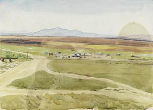 Army Camp, Mesopotamia, 1919