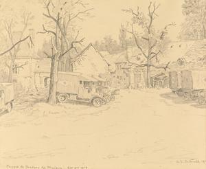 Ferme du Château de Muizon, October, 1918