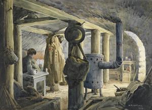 Treslon, Montagne de Reims, September, 1918