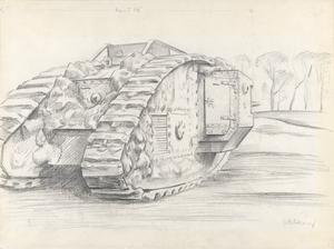 A Mark V Male Tank