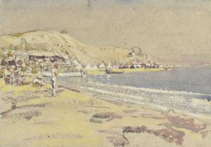 Australians Bathing on V Beach, Gallipoli