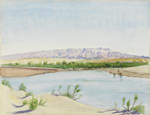 The Fatha Position, Northern Mesopotamia: The hill defences held by the Turks in 1918