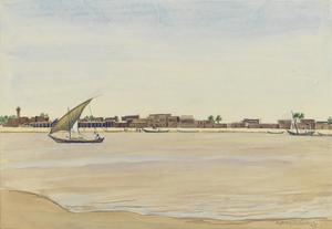The River Front, Kut, Mesopotamia, 1919