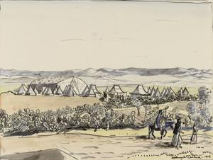 The British Aerodrome at Ramleh near Jerusalem, 1919