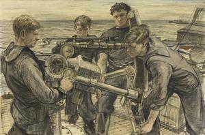 A Gun's Crew, ML 558