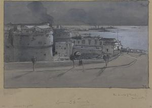 From the Walls of Taranto : a convoy mustering