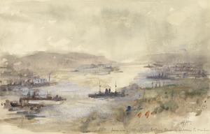 Rain - Mudros Bay, April 1915