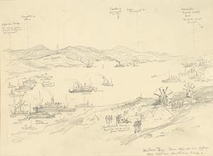 Mudros Bay, April 22nd 1915