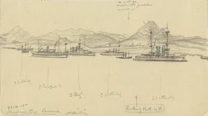 Mudros Bay, Lemnos, April 22nd 1915
