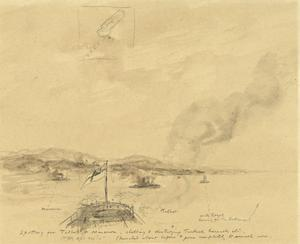'Action Stations' Again, off Gallipoli, April 24th 1915