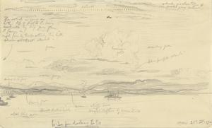 The Battle of the Landings - ANZAC - 6.30pm Looking East, April 25th 1915