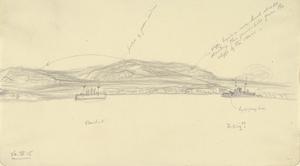 Spotting for HMS Queen Elizabeth, April 26th 1915