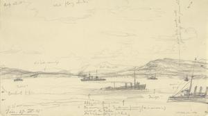 Spotting for Queen Elizabeth, 11.15am, April 27th 1915