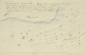 General Position on Sea Around Helles Sector, May 3rd 1915